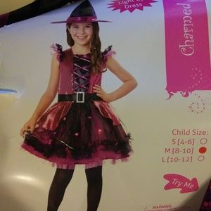 Other - BRAND NEW.Halloween Costume.Witch.Lights Up!